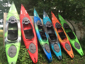 Kayaks, Canoes, Paddleboards, Tandem Kayaks, Tubes, and Paddles