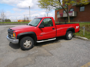 pick up gmc 1500 4x4 1996 4.3
