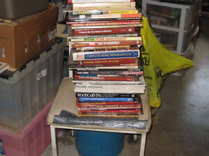 Assorted Woodworking Books
