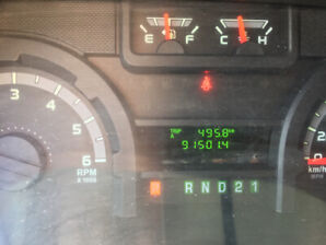 2012 Ford E-150. Very Low KMS!!!