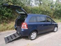 2012 Vauxhall Zafira 1.7 CDTi ecoFLEX Exclusiv [110] 5dr WHEELCHAIR ACCESSIBL...