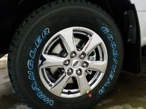 """2018 f150 18"""" wheels and tires"""