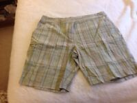 Woman's 100% Cotton Shorts by Basic, sized 18