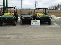 GATORS, TRACTORS, LAWN MOWERS, FARM EQUIPMENT