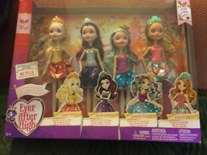 """4 """"Ever After High"""" Dolls - Brand new!!!"""