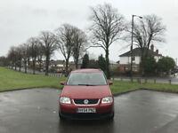 2005 Volkswagen Touran 2.0 TDI ( 7Seat ) SE 5 Door MPV Red