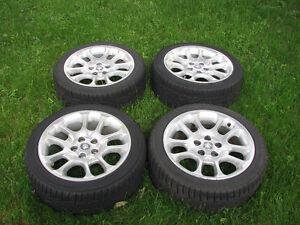 Jaguar Mags w/Hakkapelitta Snow Tires - X308,XJ8,XJR,XK8,XKR