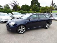 VERY LOW MILEAGE 2006 TOYOTA AVENSIS ESTATE DIESEL 2.2D-4D T180 FULL SERVICE HIS