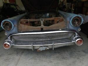 rare 1957 buick roadmaster 2dr ht project car 300hp nailhead
