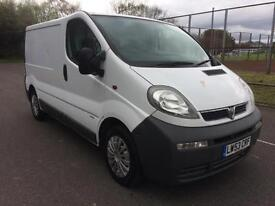 2004 Vauxhall Vivaro 1.9DTi 2700 SWB COMPLETE WITH M.O.T AND WARRANTY