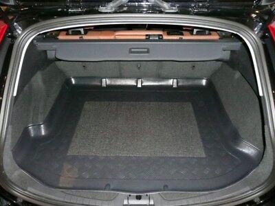 Geriffelte Kofferraumwanne für Volvo V60 V 60 Vor-Facelift Kombi 5-türer 2010-20