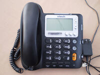 VTech CD1281 Corded Phone - Black