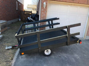 6x7 trailer comes with ownership