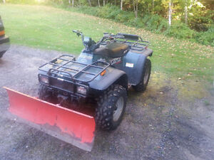 2000 Arctic Cat 300 4x4 with Plow