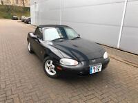2000 W reg Mazda MX-5 1.6 Sport Convertible Black mx5