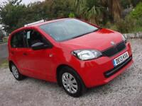 2013 13 PLATE Skoda Citigo 1.0 MPI ( 60ps ) S 5dr in Red