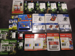 Ink Cartridges - HP, Brother, Canon, Epson, Maxitone - New