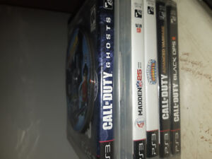 PS3 Bundle with Rockband and Call of Duty games
