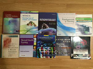 NURSING SCHOOL TEXTBOOKS (ALL IN GREAT CONDITION)