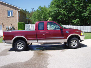1997 Ford F-150 Truck 4X4 Super-Cab