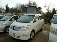 TOYOTA ALPHARD CAMPER VAN,MOTORHOME,BRAND NEW ~~SIDE KITCHEN+++ 4 BERTH~~~ULEZ