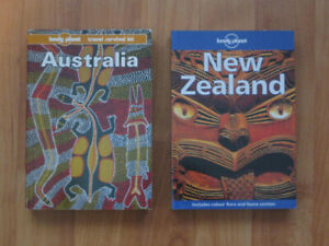 Lonely Planet Australia and New Zealand books