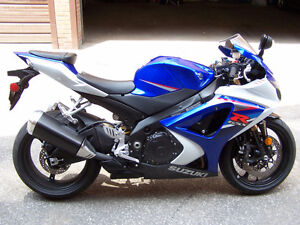 SUZUKI GSX R-1000 2007-08. 1 owner. Meticulously maintained.