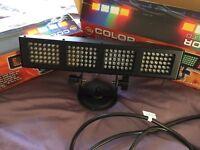 LED sound active American DJ lights