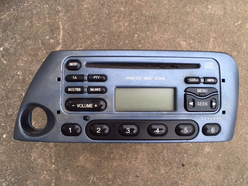 Ford Ka Stereo Cd Player