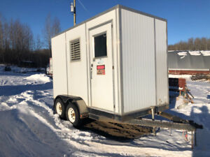 6x12 HD enclosed trailer with 8 ft ceiling height