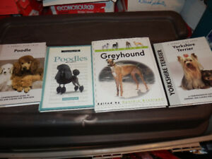 SELECTION OF HARD COVER DOG BOOKS