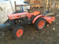 WANTED: Kubota tractor for parts : B5100,B6000,B6100,B7100