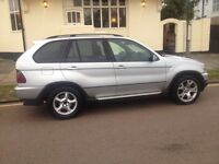 BMW X5 3.0 Sport Auto. YEARS MOT. TAX Satnav Leather Seats 6..Reg X5 YEAH!