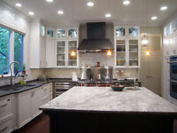 KITCHEN CABINETS GRANITE / QUARTZ COUNTERTOPS!!!