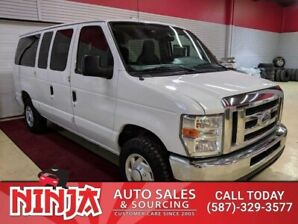 2012 Ford Econoline 350 12 Pass XLT  E350 Rare With Cruise Control  And Rear Climate Control