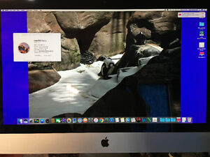 "27"" IMAC 3.1 GHz Intel Core i5 4 GB 1333 MHz DDR3"