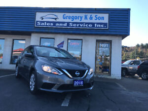 2016 Nissan Sentra S , Only 15,000kms!!!!!!!