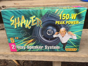 "Shaker 150W 5"" Two-way Automotive Speakers"
