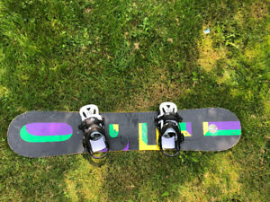 Burton Snowboard with Bindings - 145cm