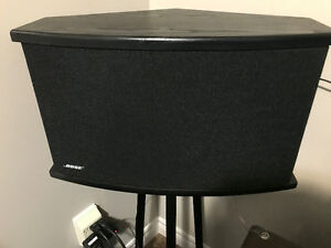 Pair of Bose 901 Speakers with Equalizer and stands