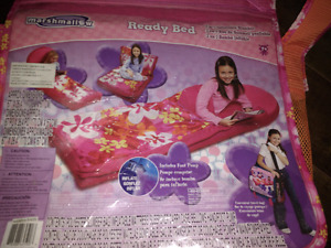 Girls ready bed