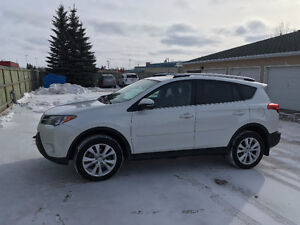 PRICE REDUCED 2015 Toyota RAV4 SUV Excellent Condition, Low KMs