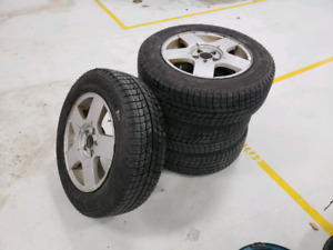 195/65R15 Michelin X-Ice Xi3 Winter Tires On OEM Volkswagen 15""
