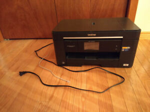 Brother Color Printer Wireless with Fax and Scanner (MFCJ5620DW)