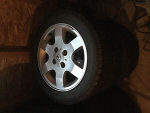 Winter tires & rims Nissan Sentra 2006