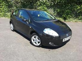 FIAT GRANDE PUNTO 1.4 SPORT BLACK 3 DOOR HATCHBACK PETROL MANUAL 2007