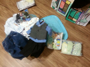Lot de vêtements pour bébé (garçon) 0 à 12 mois