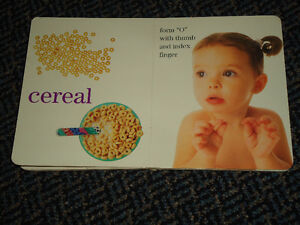 Baby Signs for Mealtime Board book Kingston Kingston Area image 3