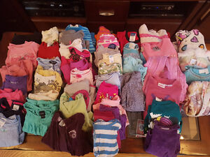 Girls size 4 shirts and sweaters