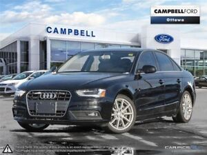 2014 Audi A4 2.0 Progressiv MINT-LOW KMS-LOADED